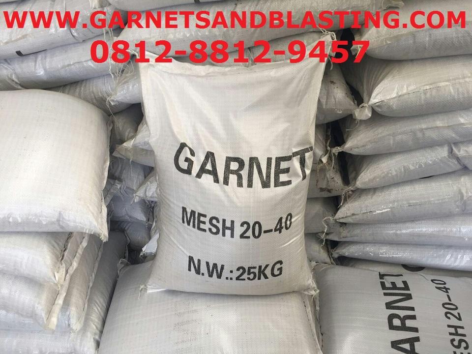 Jual Garnet Pasir Sandblasting