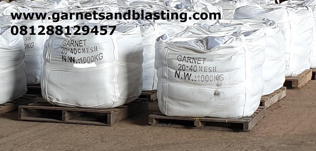 Jual Pasir Garnet Sand Blasting